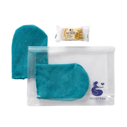 Picture of CLEANSING GLOVE SET - LAGOON